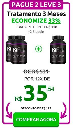 Kifina Preço 3 Potes